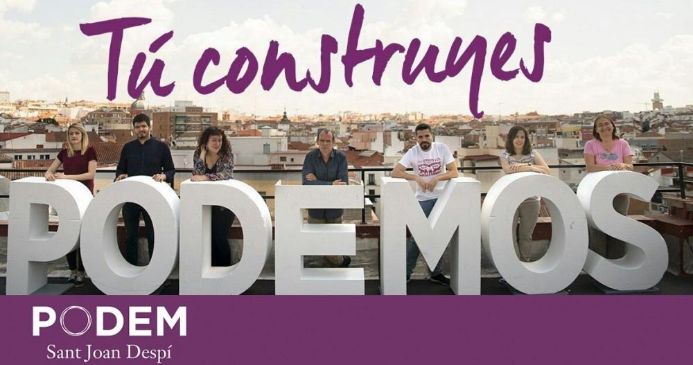 Página web de Podemos Sant Joan Despí